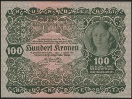 Österreich / Austria P.077 100 Kronen 1922 (1)