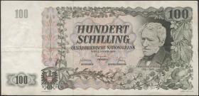 Österreich / Austria P.133 100 Schilling 1954 (3)