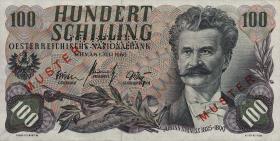 Österreich / Austria P.138s 100 Schilling 1960 (61) Muster (1)
