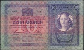 Österreich / Austria P.009 10 Kronen 1904 (3)
