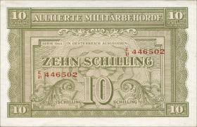 Österreich / Austria P.106 10 Schilling 1944 (1)
