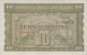Österreich / Austria P.106 10 Schilling 1944 (1-)