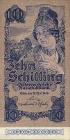 Österreich / Austria P.115 10 Schilling 1945 2.Auflage (1)