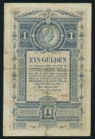 Österreich / Austria P.A153 1 Gulden 1882 (4)