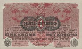 Österreich / Austria P.049 1 Krone 1916 (1919) (1)