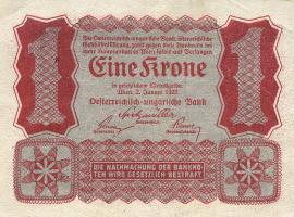 Österreich / Austria P.073 1 Krone 1922 (1)