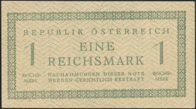 Österreich / Austria P.113b 1 Reichsmark o.J. (1945) (2)