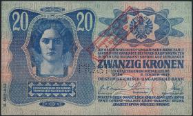 Österreich / Austria P.045 20 Kronen 1920 (1/1-)
