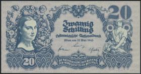 Österreich / Austria P.116 20 Schilling 1945 (1)