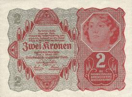 Österreich / Austria P.074 2 Kronen 1922 (1)
