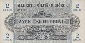Österreich / Austria P.104b 2 Schilling 1944 (1)