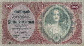 Österreich / Austria P.079 5000 Kronen 1922 (3)