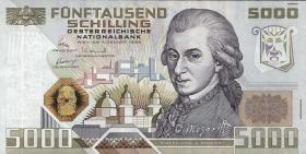 Österreich / Austria P.153 5000 Schilling 1988 (1)