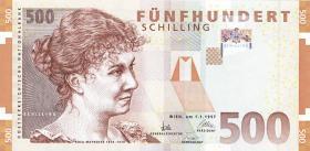 Österreich / Austria P.154 500 Schilling 1997 (1)