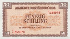 Österreich / Austria P.109 50 Schilling 1944 (1/1-)