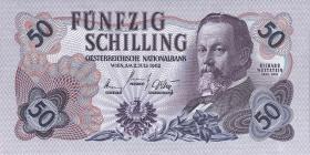Österreich / Austria P.137 50 Schilling 1962 (1)