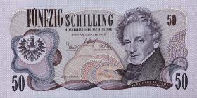 Österreich / Austria P.143 50 Schilling 1970 (1)