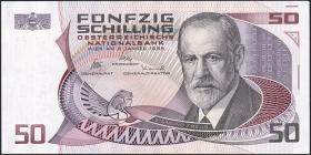 Österreich / Austria P.149 50 Schilling 1986 (87) (2+)