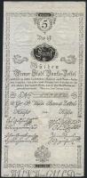 Österreich / Austria P.A031 5 Gulden 1800 (2+)
