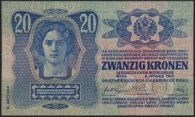 Österreich / Austria P.014 20 Kronen 1913 II. Auflage (1)