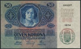 Österreich / Austria P.015 50 Kronen 1914 (1)