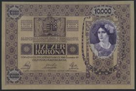 Österreich / Austria P.025 10000 Kronen 1918 (1)