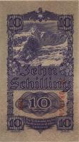 Österreich / Austria P.114 10 Schilling 1945 (1) 6-stellig