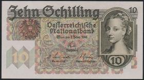 Österreich / Austria P.122 10 Schilling 1946 (1)