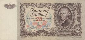 Österreich / Austria P.129a 20 Schilling 1950 Haydn (1)