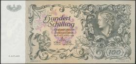 Österreich / Austria P.132 100 Schilling 1949 2. Auflage (1)