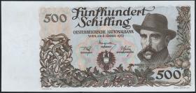 Österreich / Austria P.134 500 Schilling 1953 Jauregg (2/1)