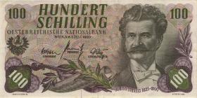 Österreich / Austria P.138 100 Schilling 1960 (61) (3+)