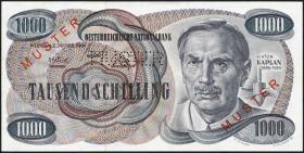 Österreich / Austria P.140s 1000 Schilling 1961 (62) MUSTER (2)