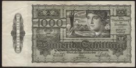 Österreich / Austria P.125 1000 Schilling 1947 Zweite Ausgabe Serie 1056  (3)