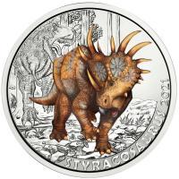 Österreich 3 Euro 2021 Styracosaurus