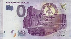 0 Euro Souvenir Schein DDR Museum Berlin II (1)