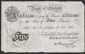 KZ Oranienburg 10 Pfund Fälschung 1932 (1-)