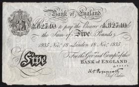 KZ Oranienburg 5 Pfund Fälschung 1935 (3)