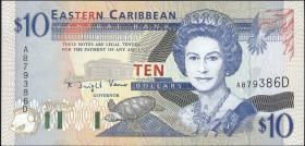 Ost Karibik / East Caribbean P.32d 10 Dollars (1994) (1)
