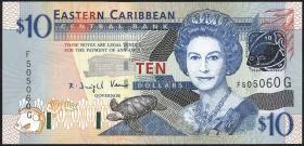 Ost Karibik / East Caribbean P.43g 10 Dollars (2003) (1)