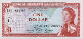 Ost Karibik / East Caribbean P.13l 1 Dollar (1965) (1)