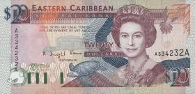 Ost Karibik / East Caribbean P.28a 20 Dollars (1993) (1)