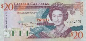 Ost Karibik / East Caribbean P.33l 20 Dollars (1994) (1)