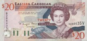 Ost Karibik / East Caribbean P.33v 20 Dollars (1994) (1)