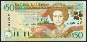 Ost Karibik / East Caribbean P.40v 50 Dollars (2000) St. Vincent (1)