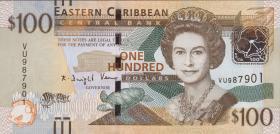 Ost Karibik / East Caribbean P.59 100 Dollars (2016)