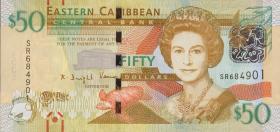 Ost Karibik / East Caribbean P.58 50 Dollars (2016)