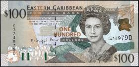 Ost Karibik / East Caribbean P.41d 100 Dollars (2000) (1)