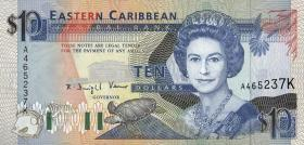 Ost Karibik / East Caribbean P.27k 10 Dollars (1993) (1)