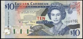 Ost Karibik / East Caribbeans P.32l 10 Dollars (1994) (1)